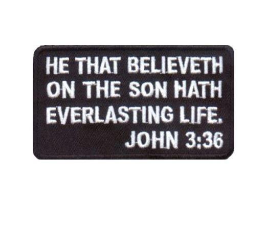 John 3:36 Christian Tactical Gear - http://psalmproducts.com