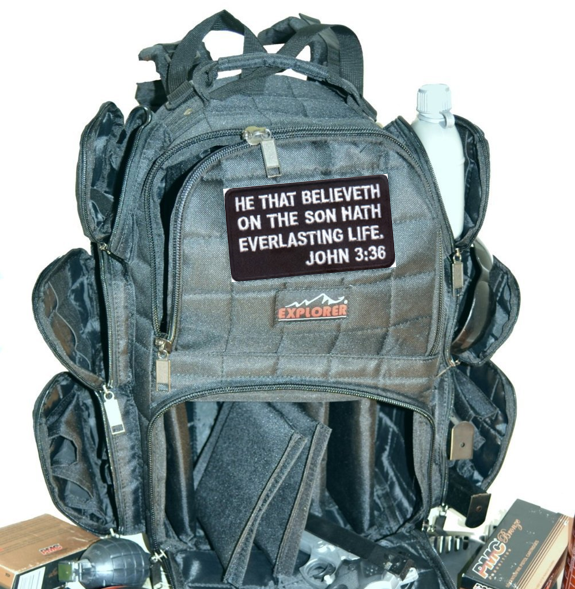 Range backpack Christian Tactical Gear - http://psalmproducts.com