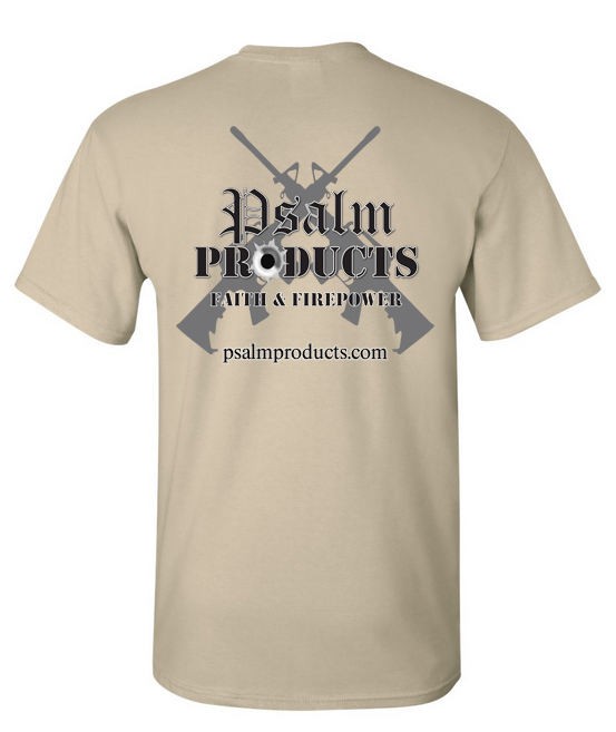 Tee Shirt Christian Tactical Gear - http://psalmproducts.com