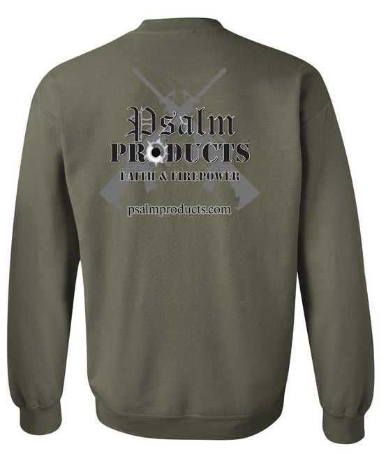 Sweat Shirt Christian Tactical Gear - http://psalmproducts.com